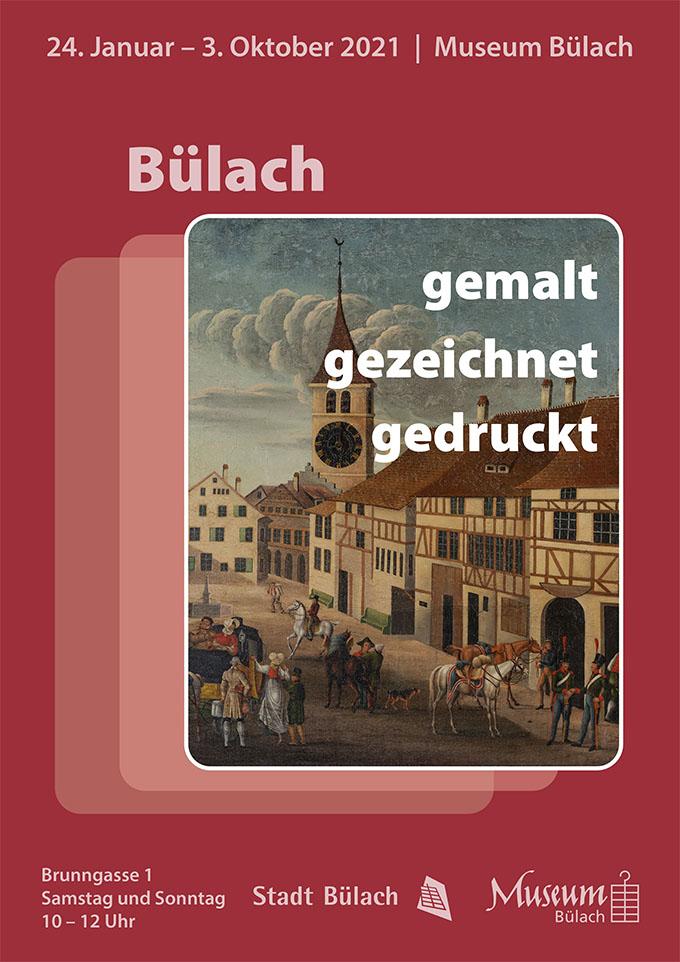 Museum Bülach Plakat Wechselausstellung